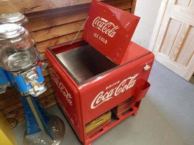 Coca Cola Chest Cooler