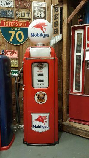 National a62 gas pump