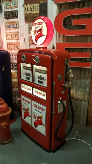 Gilbarco Double Gas Pump