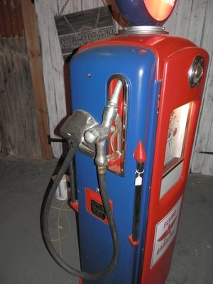 Bennett Gas Pump